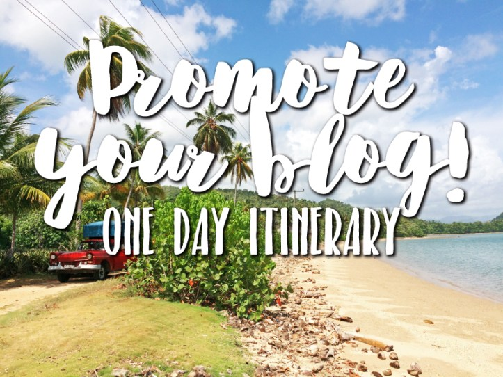 Promote your travel blog