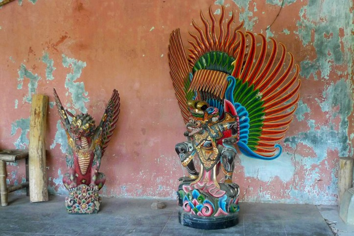 Traditional wooden sculptures, Bali