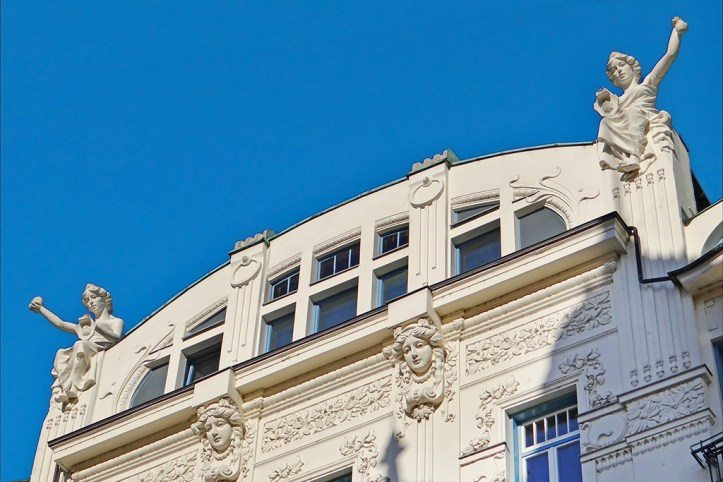Art Nouveau building, Ljubljana