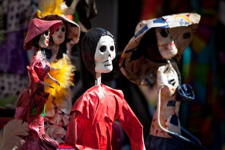 Dia de los Muertos, Mexico City
