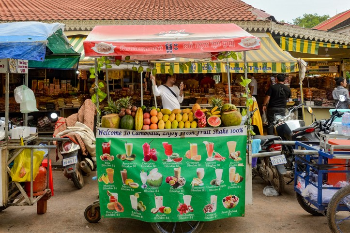 Food Stall, Siem Reap