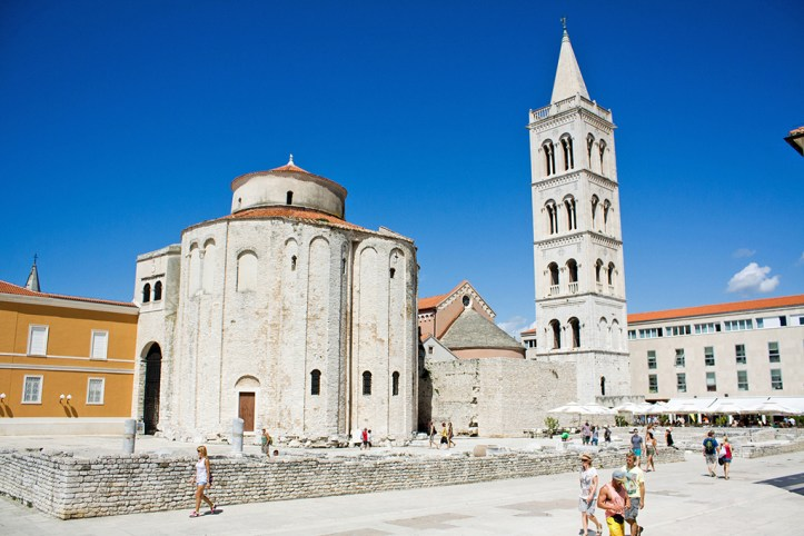 Forum and Saint Donatus Zadar