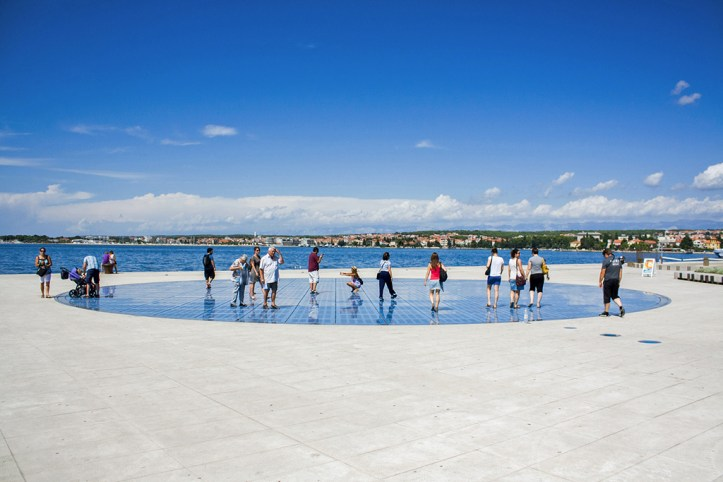 Gretting to the Sun Zadar