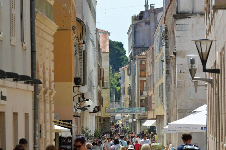 Kalelarga Street, Zadar
