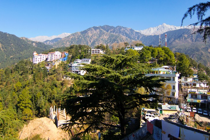 McLeod Ganj from the Dalai Lama Temple