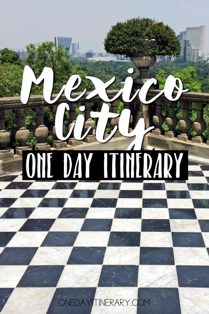 Mexico City Mexico One day itinerary