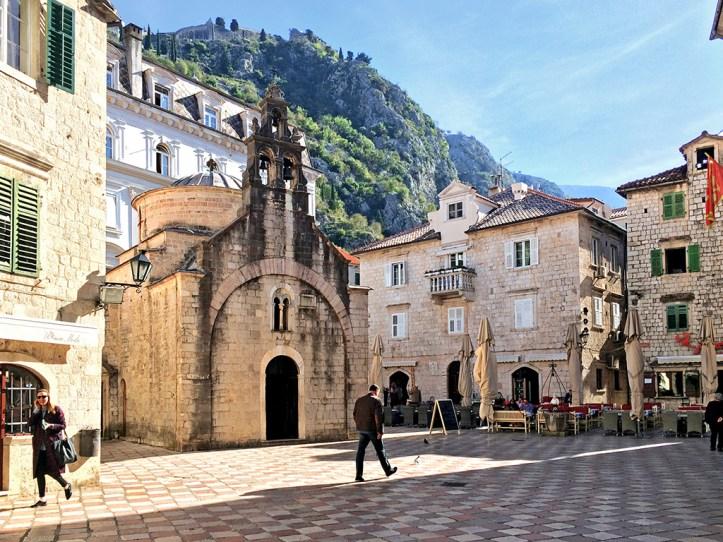 Saint Luke's church Kotor Montenegro