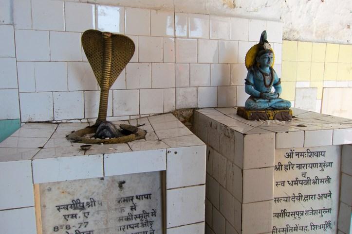 Shrine at Bhagsu, Dharamsala
