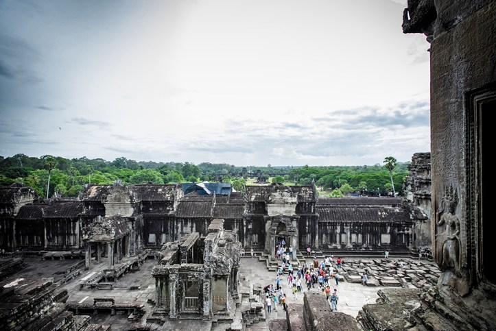 The view from Angkor Temple