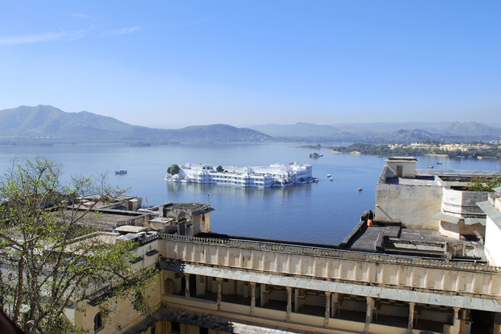 View from the City Palace, Udaipur