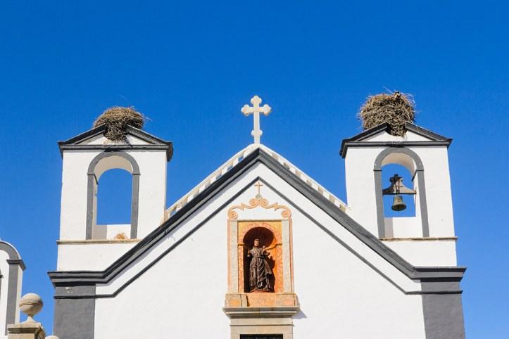 Stork nests, Faro
