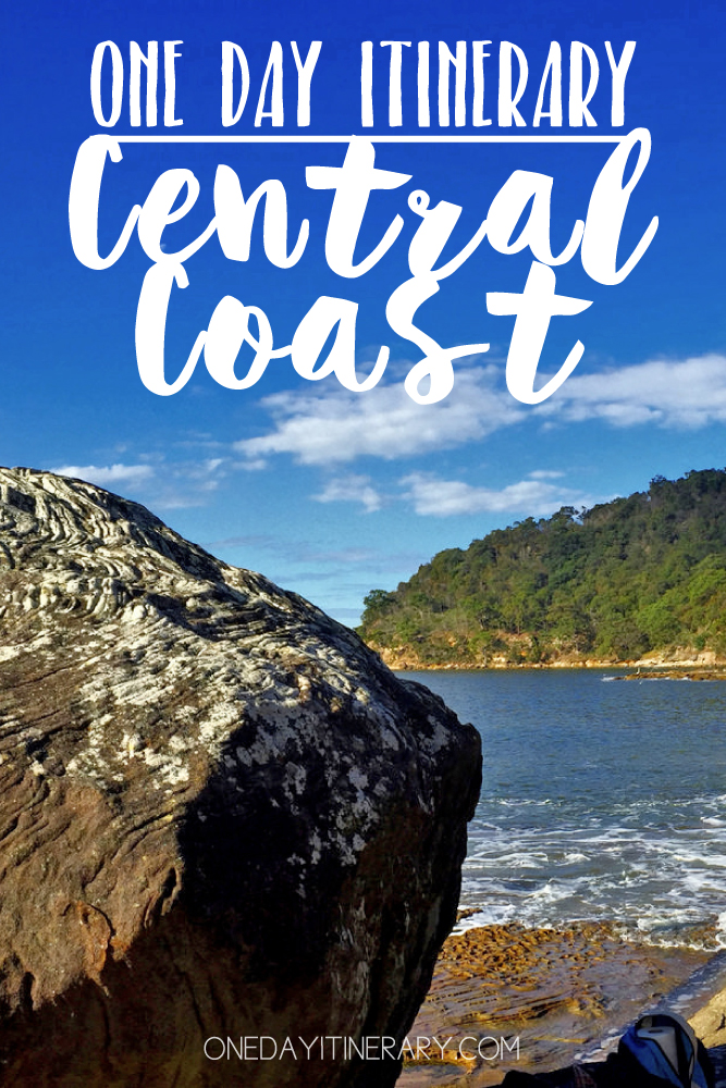 Central Coast Australia One day itinerary