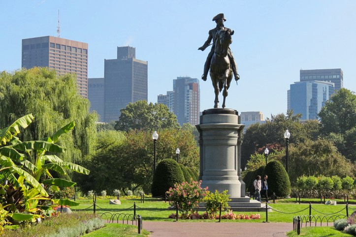 George Washington Memorial, Boston