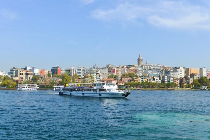 Boat trip, Istanbul