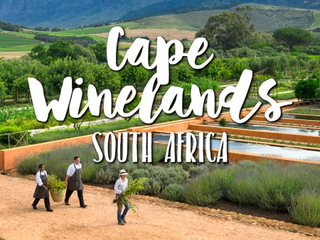 One day in Cape Winelands itinerary