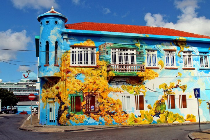 Street art in Curacao