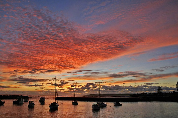 Early dawn at Shellharbour