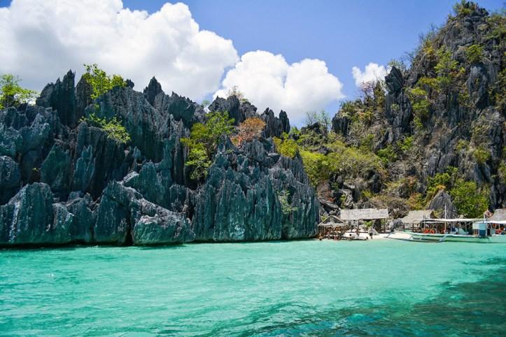 Huge cliffs and cyrstal waters, Isla de Gigantes