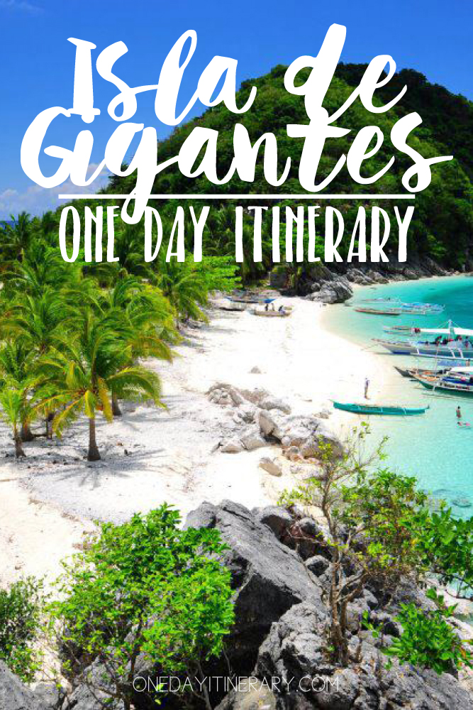 Isla de Gigantes The Philippines One day itinerary