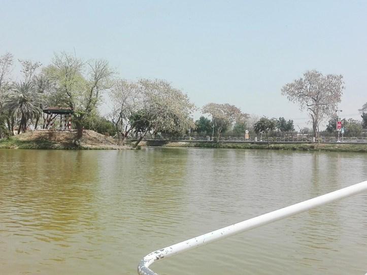 Lake in Multan Cantt