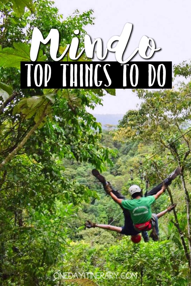 Mindo Ecuador Top things to do