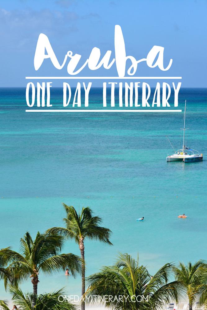 Aruba Caribbean One day itinerary