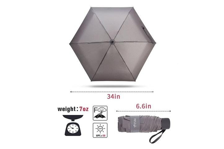 Fidus Mini Compact Sun&Rain Travel Umbrella