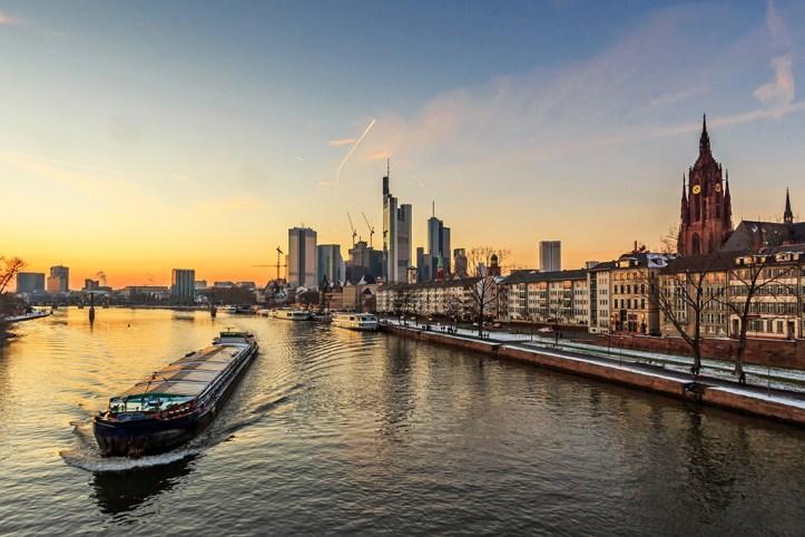 Frankfurt at Dusk