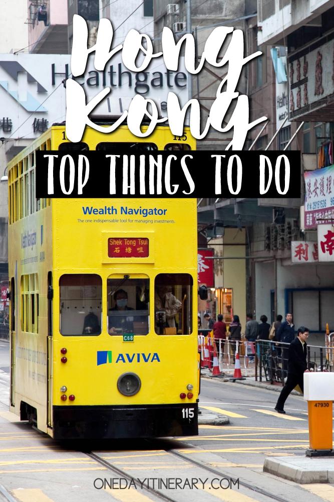 Hong Kong Top things to do