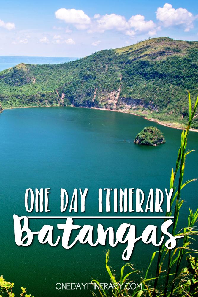 Batangas Philippines One day itinerary