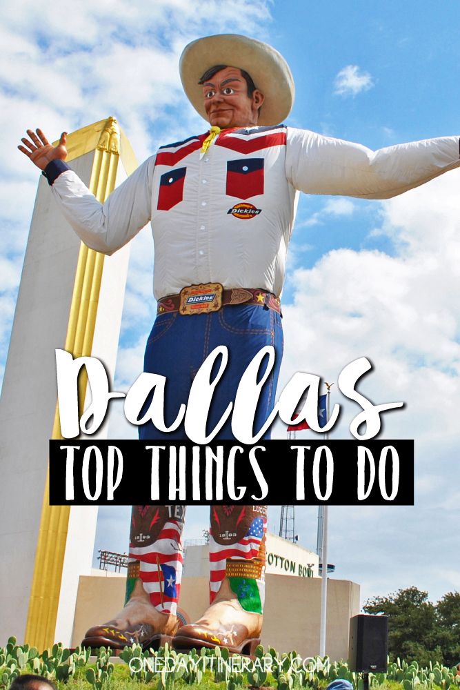 Dallas Texas Top things to do