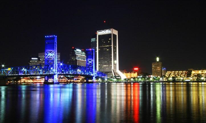 Jacksonville Skyline at Night