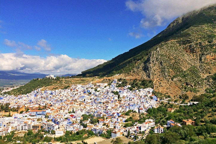 View from the Spanish Mosque viewpoint