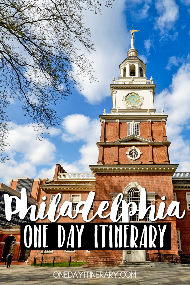 Philadelphia Pennsylvania One day itinerary