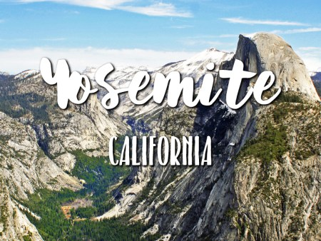 One day in Yosemite Itinerary