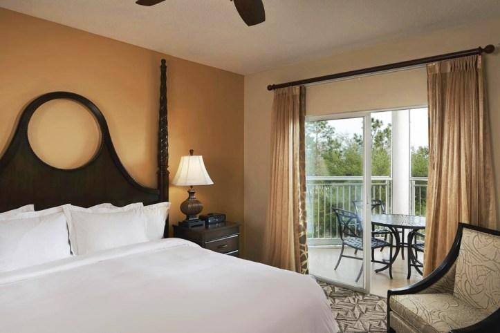 Hilton Grand Vacations at SeaWorld Room