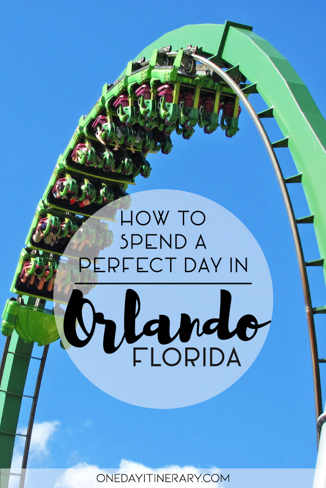 How to spend a perfect day in Orlando, Florida