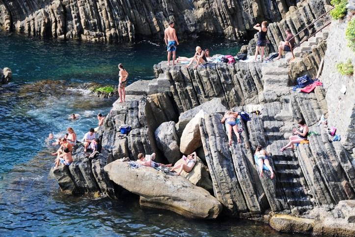 Riomaggiore Rocky Beach