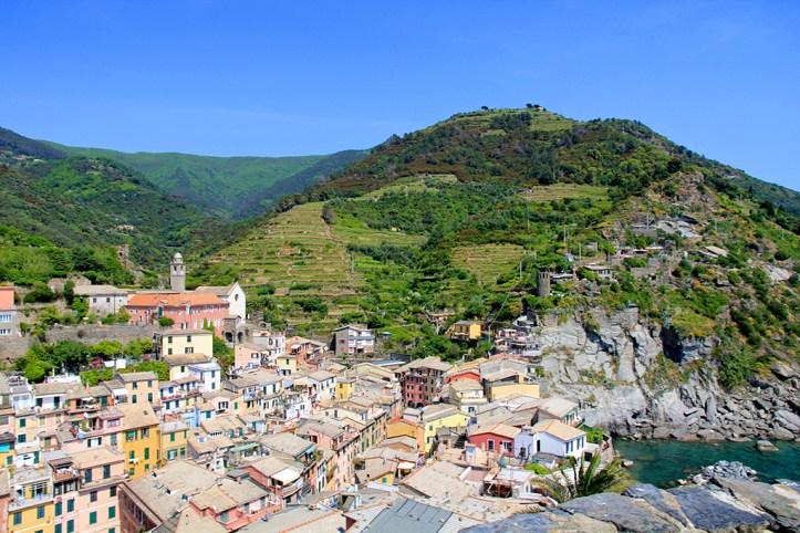 View from the Castello Doria