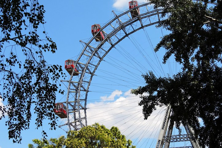 Ferris wheel in Prater park