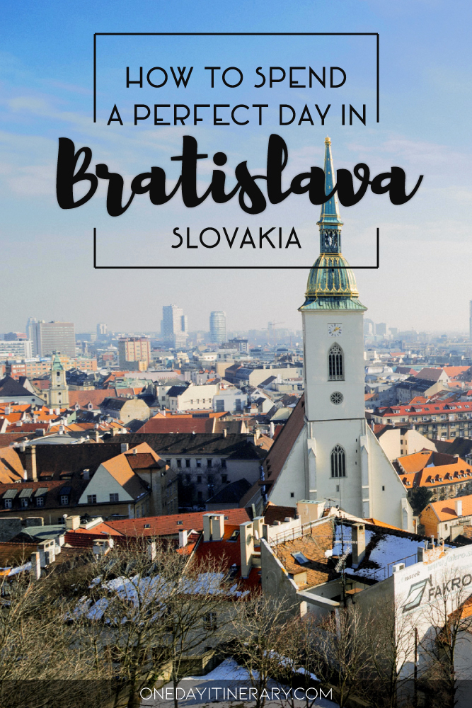 How to spend a perfect day in Bratislava, Slovakia