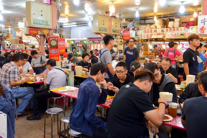 Shilin Market Food court