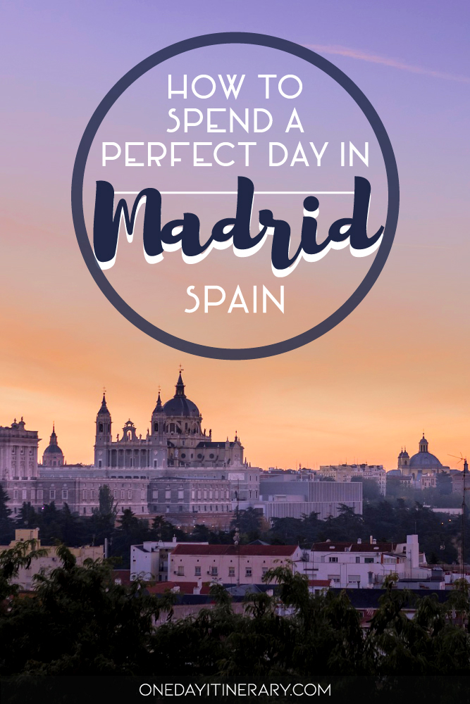 How to spend a perfect day in Madrid, Spain