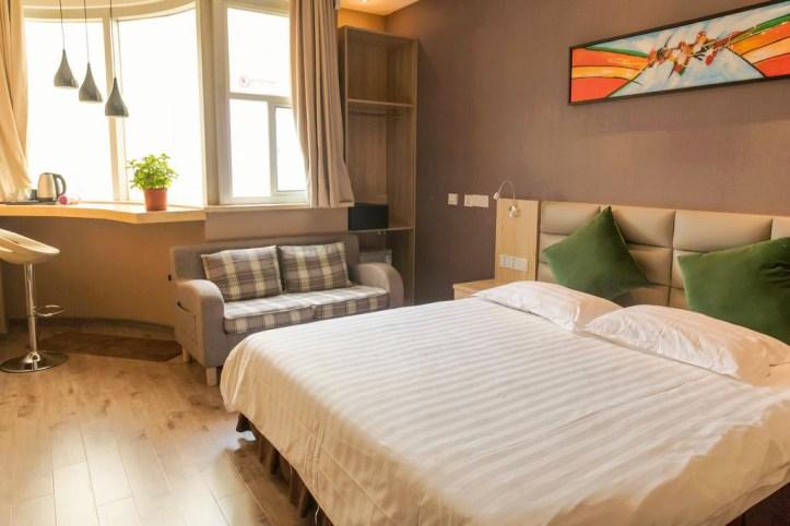 Shanghai Blue Mountain Bund Youth Hostel Room