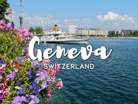 One day in Geneva Itinerary