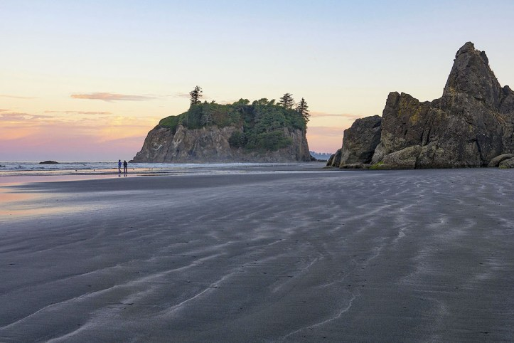 Ruby Beach at Sunset
