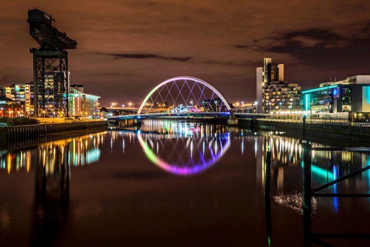 Glasgow at Night