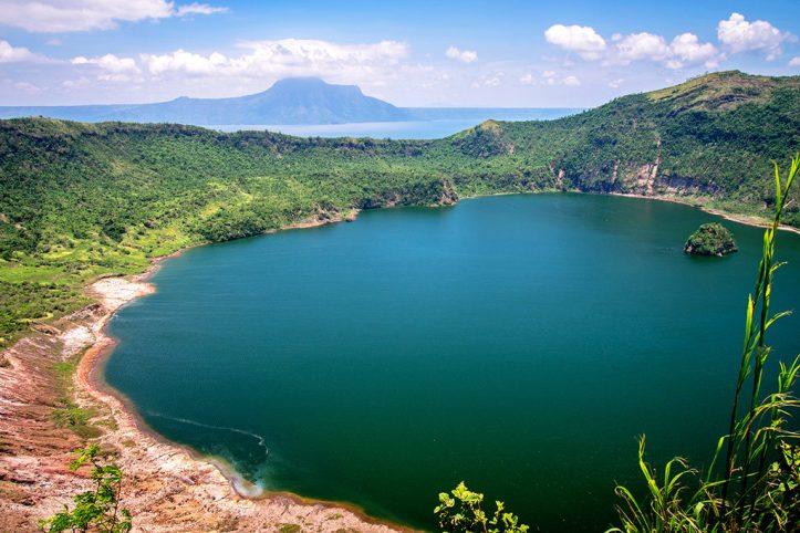 Taal Volcano Lake