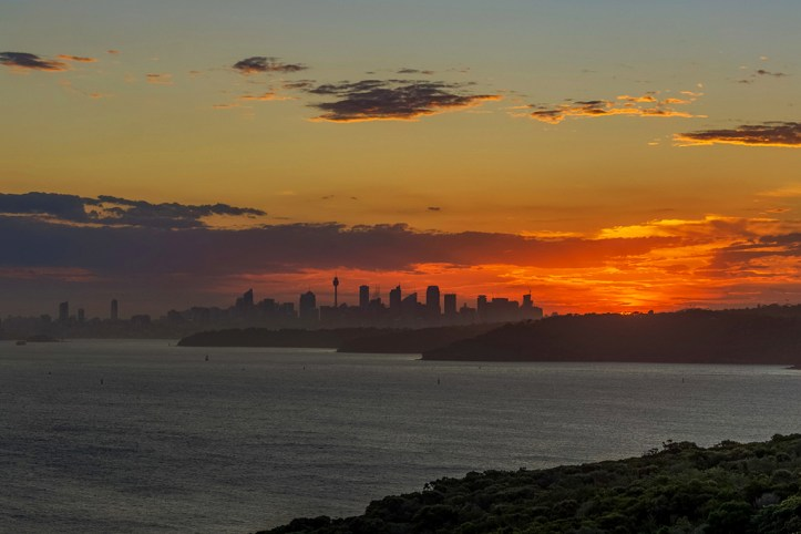 Sunset from North Head