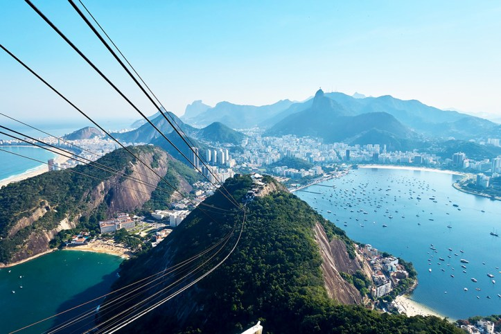 View from Pao de Acucar